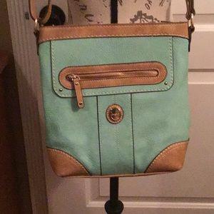 b.o.c. Turquoise Shoulder Handbag
